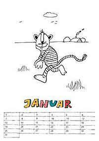 Janoschs 200-jähriger Spiel- und Malkalender - Produktdetailbild 2