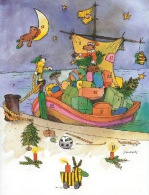 Janoschs Adventskalender Weihnachtsschiff, Janosch
