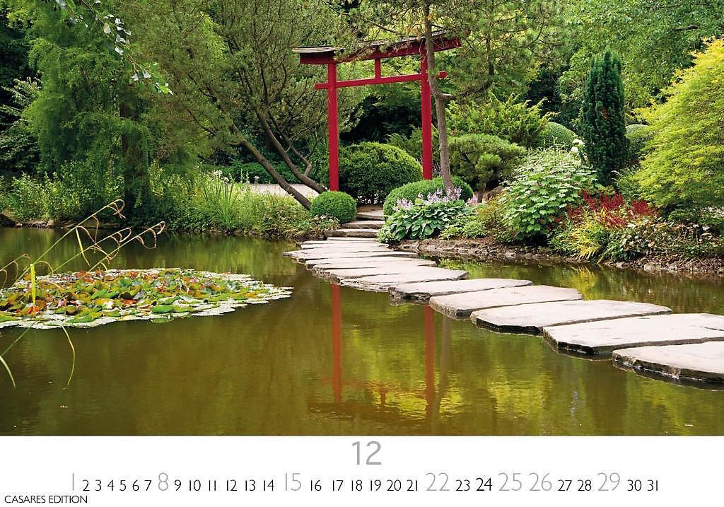 Super Japanische Gärten 2019 - Kalender bei Weltbild.de bestellen @BM_62