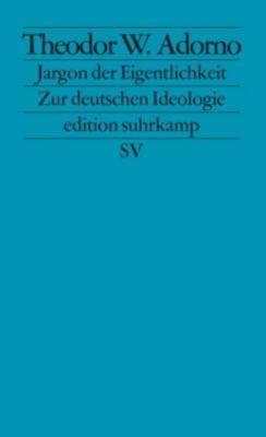 Jargon der Eigentlichkeit, Theodor W. Adorno