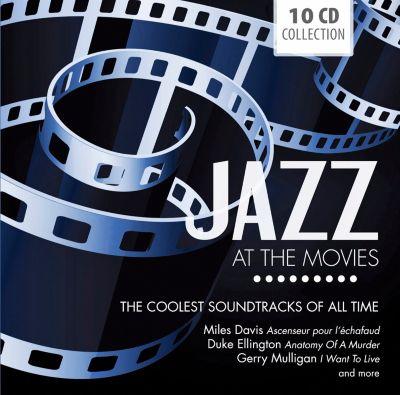 Jazz At The Movies, 10 CDs, Miles Davis, Johnny Mandel, Art Blakey, Ellington