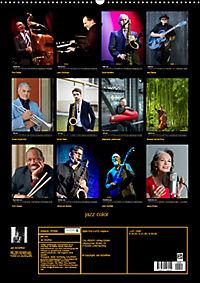 jazz color (Wandkalender 2019 DIN A2 hoch) - Produktdetailbild 13