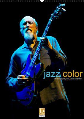 jazz color (Wandkalender 2019 DIN A2 hoch), Jan Scheffner
