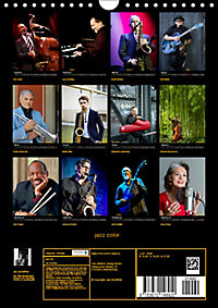 jazz color (Wandkalender 2019 DIN A4 hoch) - Produktdetailbild 13