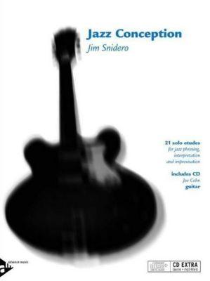 Jazz Conception Guitar, w. Audio-CD, Jim Snidero
