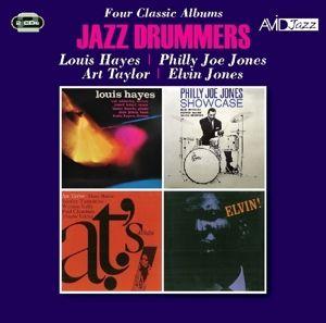 Jazz Dummers-4 Classic Albums, Diverse Interpreten