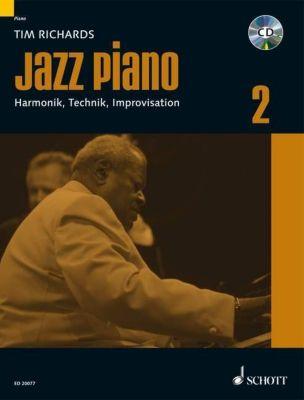 Jazz Piano, m. Audio-CD, Tim Richards