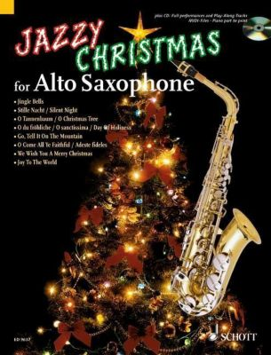 Jazzy Christmas for Alto Saxophone, m. Audio-CD