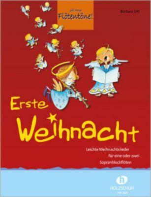 Jede Menge Flötentöne!, Erste Weihnacht, für 1-2 Sopranblockflöten, Barbara Ertl