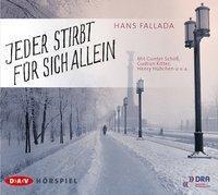 Jeder stirbt für sich allein, 2 Audio-CDs, Hans Fallada