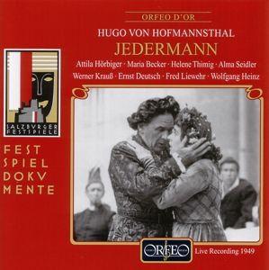 Jedermann-D.Spiel Vom Sterben D.Reichen Mannes, Hugo von Hofmannsthal