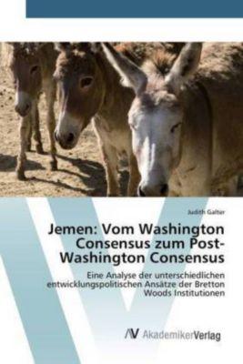 Jemen: Vom Washington Consensus zum Post-Washington Consensus, Judith Galter
