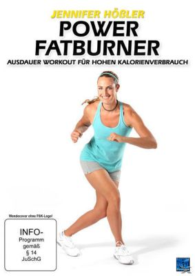 Jennifer Hößler - Power Fatburner - Ausdauer Workout für hohen Kalorienverbrauch, Jennifer Hößler