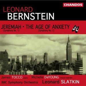 Jeremiah/The Age Of Anxiety, Deyoung, Tocco, Slatkin, Bbcso