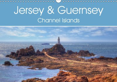 Jersey & Guernsey - Channel Islands (Wall Calendar 2019 DIN A3 Landscape), Joana Kruse