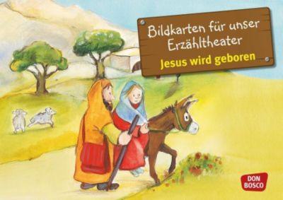 Jesus wird geboren, Kamishibai Bildkartenset
