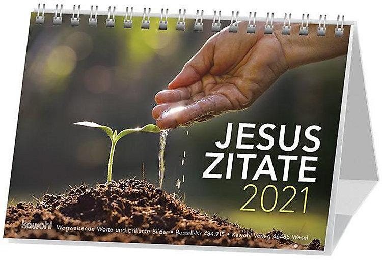 Jesus Zitate 2020 Kalender Günstig Bei Weltbild Ch Bestellen