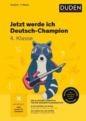 Jetzt werde ich Deutsch-Champion - Deutsch 4. Klasse