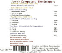 Jewish Composers The Escapers - Produktdetailbild 1