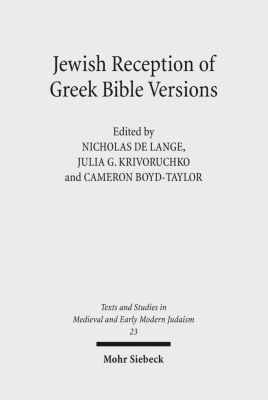 the greek and hebrew bible collected essays on the septuagint