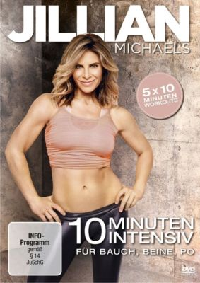 Jillian Michaels - 10 Minuten Intensiv für Bauch, Beine, Po, Jillian Michaels