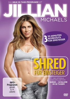 Jillian Michaels - Shred für Einsteiger, Jillian Michaels