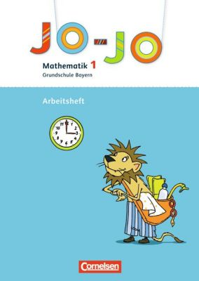 Jo-Jo Mathematik, Grundschule Bayern, Neubearbeitung: 1. Jahrgangsstufe, Arbeitsheft