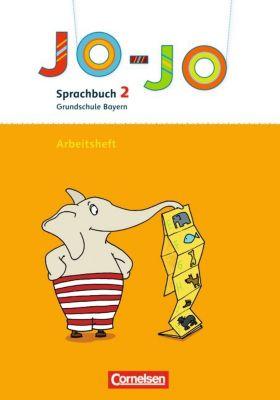 Jo-Jo, Sprachbuch, Grundschule Bayern, Neubearbeitung: 1./2. Jahrgangsstufe, Arbeitsheft in Vereinfachter Ausgangsschrift