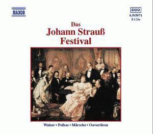 Johann Strauss Festival, Diverse Interpreten