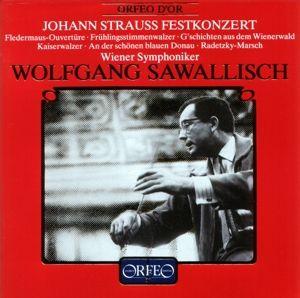 Johann Strauss Festkonzert/Fledermaus-Ouvertüre/+, Wolfgang Sawallisch, Wsy