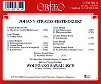 Johann Strauss Festkonzert/Fledermaus-Ouvertüre/+ - Produktdetailbild 1