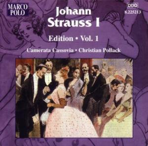 Johann Strauss I Edition Vol.1, Pollack, Camerata Cassovia
