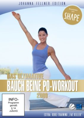 Johanna Fellner Edition - Das ultimative Bauch Beine Po-Workout, N, A