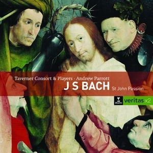 Johannes Passion, A. Parrott, Taverner Consort & Players