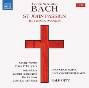 Johannespassion, Poplutz, Speer, Otto, Bachchor+Bachorchester Mainz
