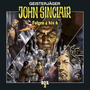 John Sinclair: Box 2 Folge 4-6, John Sinclair