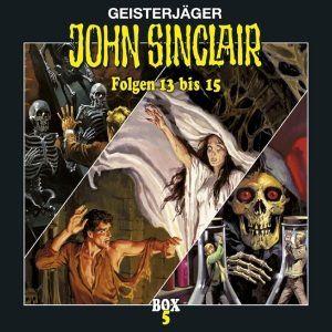 John Sinclair: Box 5 Folge 13-15, John Sinclair