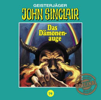 John Sinclair Tonstudio Braun - Das Dämonenauge, 1 Audio-CD, Jason Dark