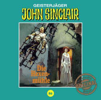 John Sinclair Tonstudio Braun - Die Hexenmühle, 1 Audio-CD, Jason Dark