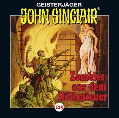 John Sinclair - Zombies aus dem Höllenfeuer, 1 Audio-CD, Jason Dark