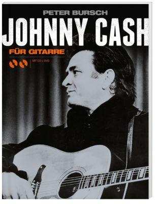 Johnny Cash für Gitarre, m. Audio-CD + DVD, Johnny Cash