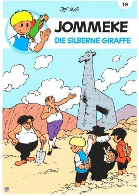 Jommeke- Die silberne Giraffe - Jef Nys |