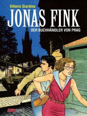 Jonas Fink Gesamtausgabe -Der Buchhändler von Prag, m. DVD-Video u. sign. Druck - Vittorio Giardino |