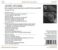 José Iturbi-Compl.Solo Repertoire On Rca Victor - Produktdetailbild 1