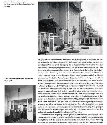 josef hoffmann buch von august sarnitz bei bestellen. Black Bedroom Furniture Sets. Home Design Ideas