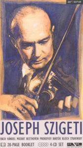 Joseph Szigeti (Various), Szigeti, Lpo, British So, Beecham