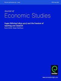 Journal of Economic Studies: Journal of Economic Studies, Volume 29, Issue 4 & 5