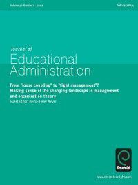 Journal of Educational Administration: Journal of Educational Administration, Volume 40, Issue 6