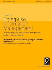 Journal of Enterprise Information Management: Journal of Enterprise Information Management, Volume 17, Issue 4