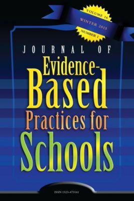 Journal of Evidence-Based Practices for Schools: JEBPS Vol 16-N1
